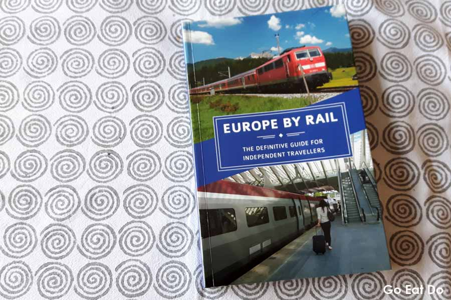 Europe by Rail by Nicky Gardner and Susanne Kries.