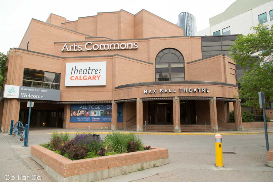 Max Bell Theatre, part of Art Commons, in Calgary, Alberta, Canada
