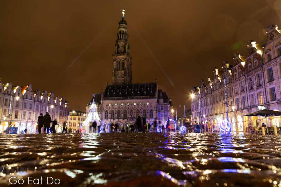 Arras Christmas Market is at the Grand Place, Heroes Square, meanwhile, is by the city's town hall and belfry.