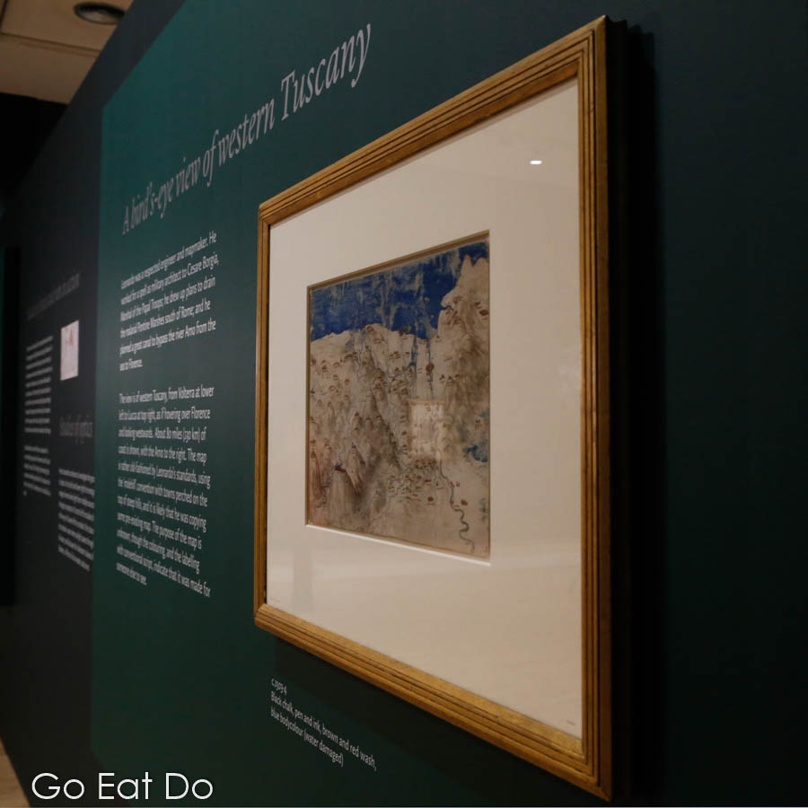 'Leonardo da Vinci: A Life in Drawing' at Sunderland Museum and Winter Gardens