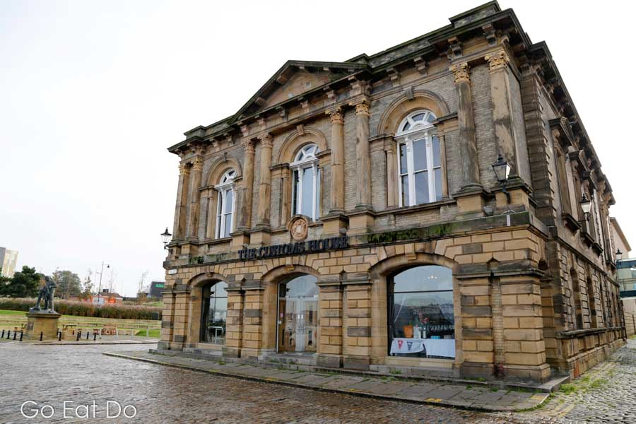 The front of The Customs House in South Shields.
