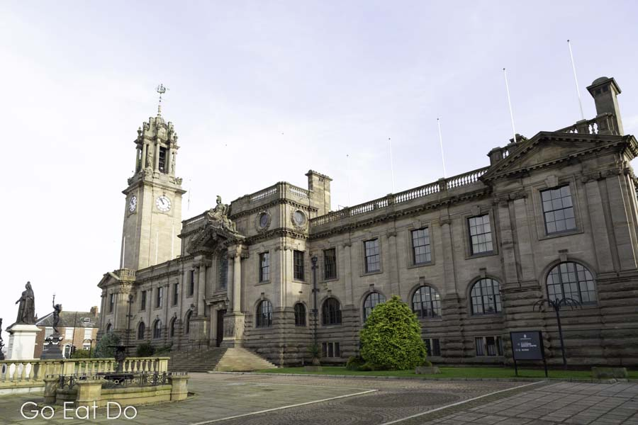 Town Hall in South Shields is fine example of Edwardian municipal architechture