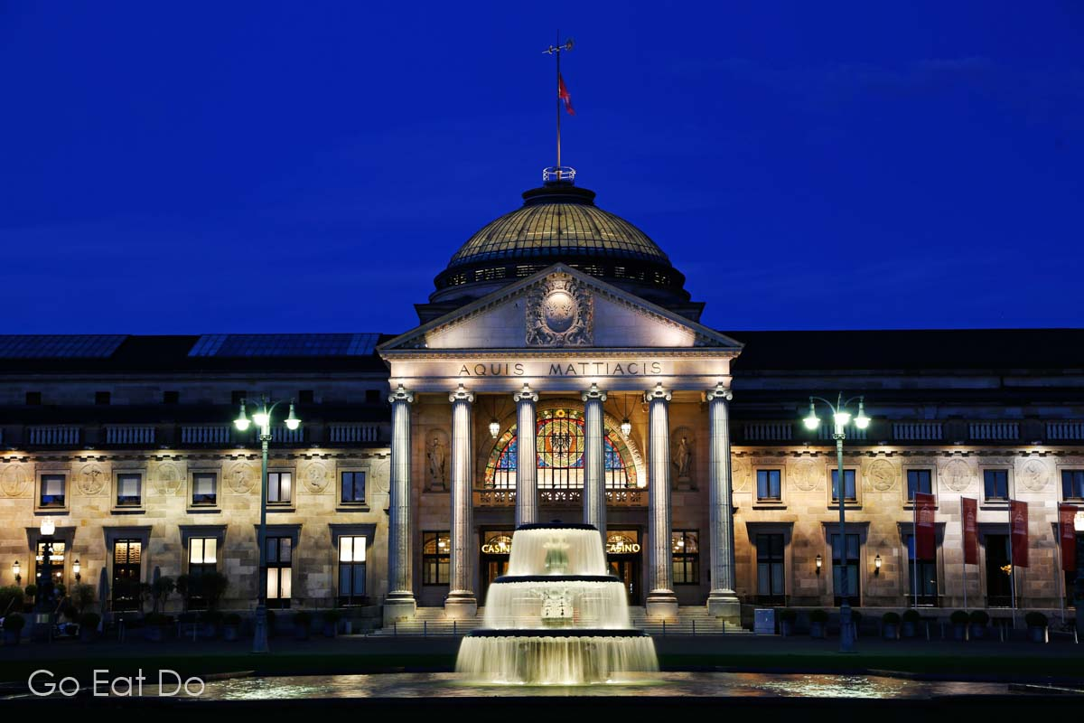 The Kurhaus Wiesbaden is one of the key attractions in German city renowned for its spa culture and saunas