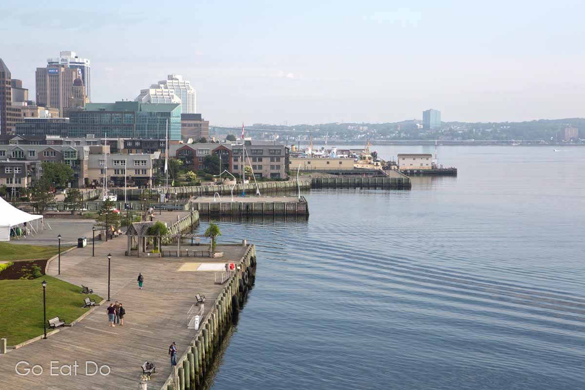 The wooden wharves by the waterfront are a must-visit attraction and good to walk along if you have 48 hours in Halifax.