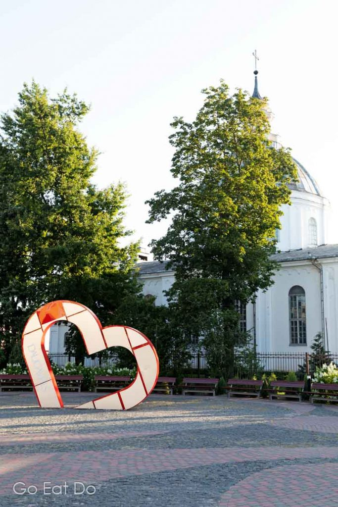 The heart sculpture in Daugavpils is also an ideal location for snapping a selfie and sharing love for the Latgale region online.