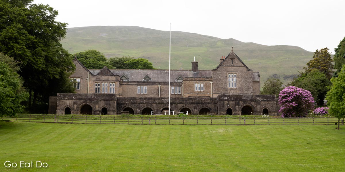One of Sedbergh School's many buildings in and around the small town near the Lake District